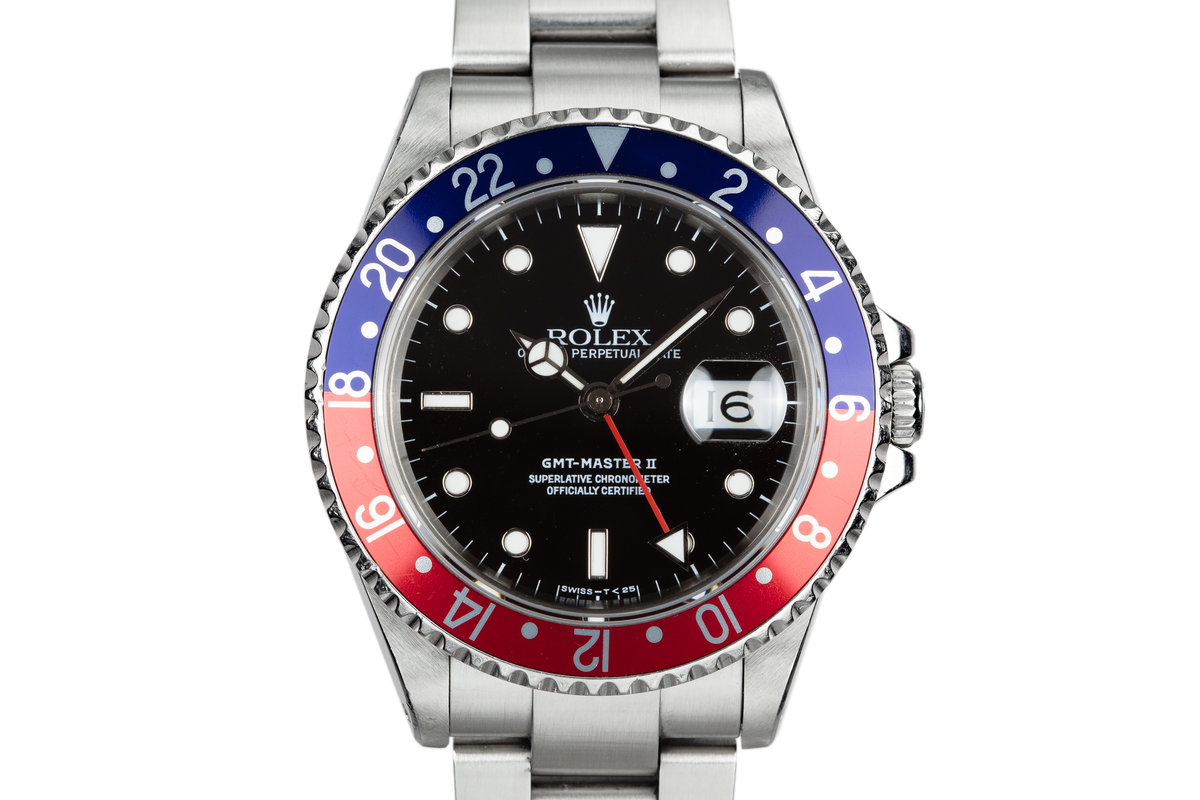 """1990 Rolex GMT-Master 16710 """"Pepsi"""" photo, #0"""