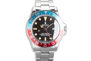 1972 Vintage Rolex GMT-Master 1675 Mk II Dial photo
