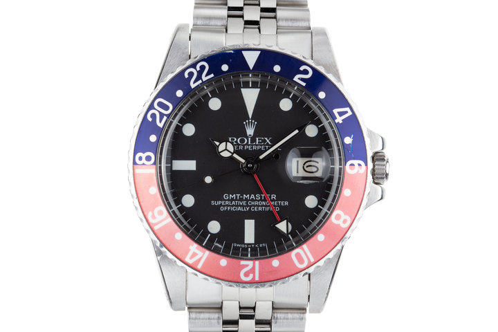 "1978 Rolex GMT-Master 1675 ""Pepsi"" with Box and Papers photo"