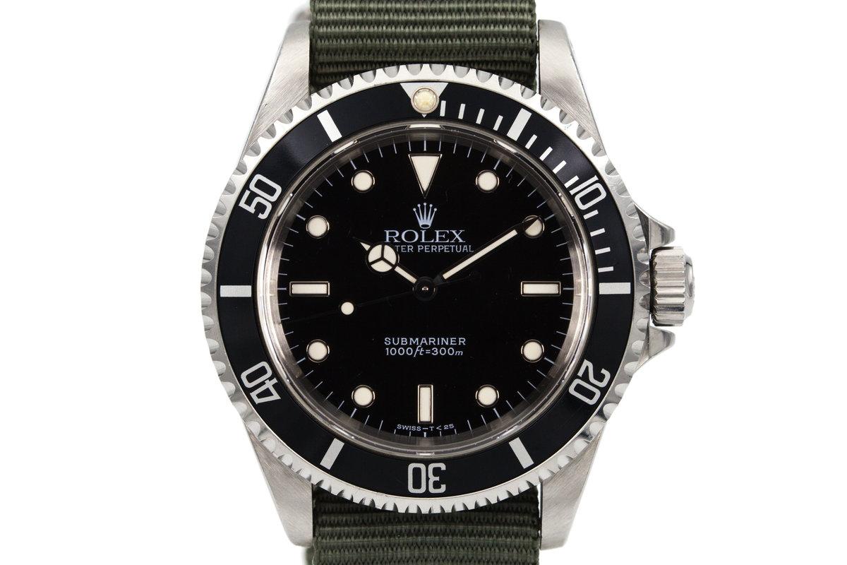 1995 Rolex Submariner 14060 photo, #0