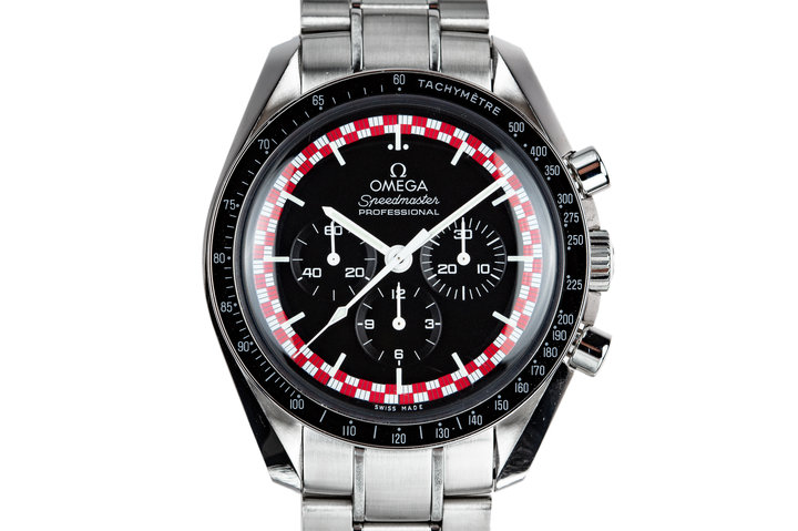 "2016 Omega Speedmaster Professional 311.30.42.30.01.004 ""Tin Tin"" Dial with Box photo"