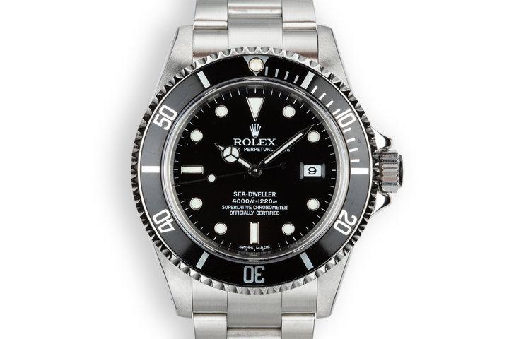 2000 Rolex Sea-Dweller 16600 photo
