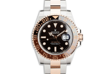 "2019 Rolex EVEROSE GMT-Master II 126711CHNR ""Root Beer"" with Box and Card photo"