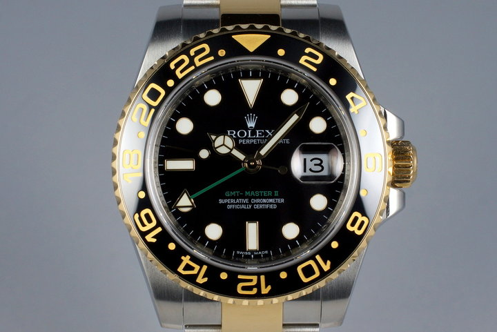 2007 Rolex Two Tone GMT II 116713 photo