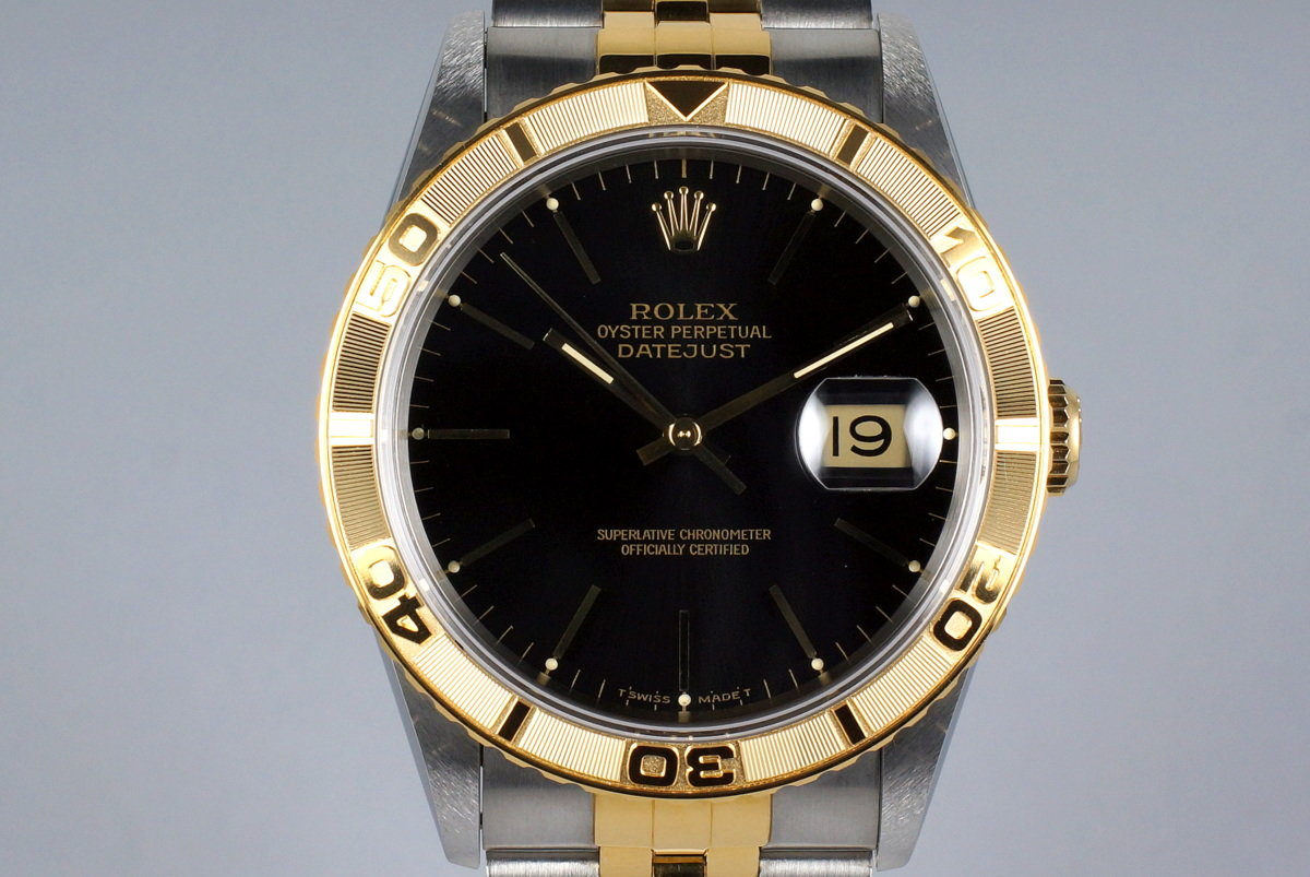 1994 Rolex Two Tone DateJust 16263 Thunderbird with Box and Papers photo, #0