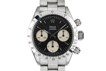 1975 Rolex Daytona 6265 with Black Sigma Dial photo