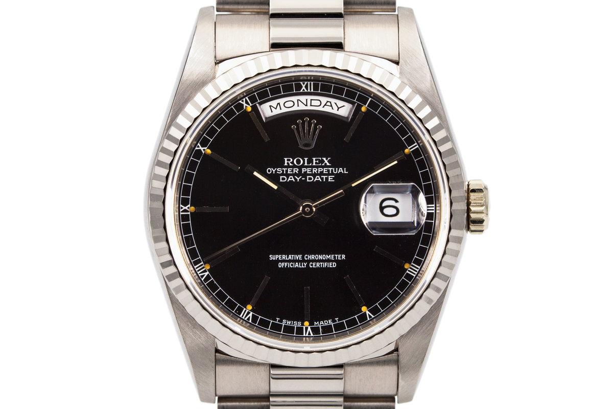 1991 Rolex WG Day-Date 18239 photo, #0