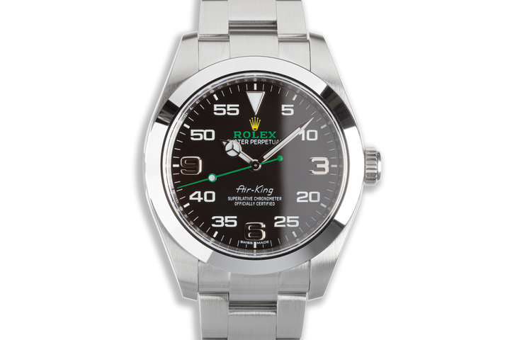 2021 Rolex 40mm Air-King 116900 with Box & Card photo