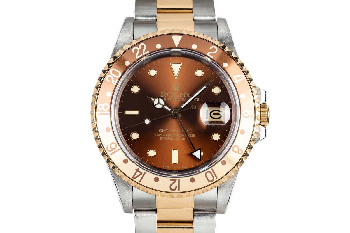 """1988 Rolex Two-Tone GMT-Master II 16713 """"Rootbeer"""" photo, #0"""