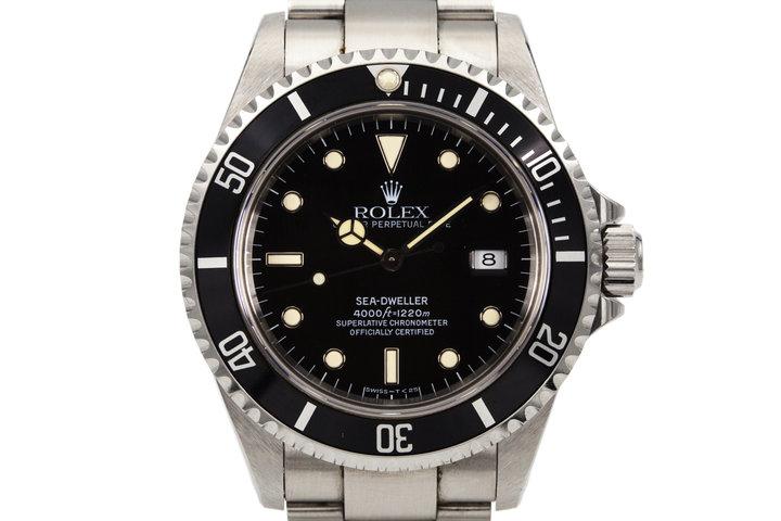 1997 Rolex Sea Dweller 16600 photo