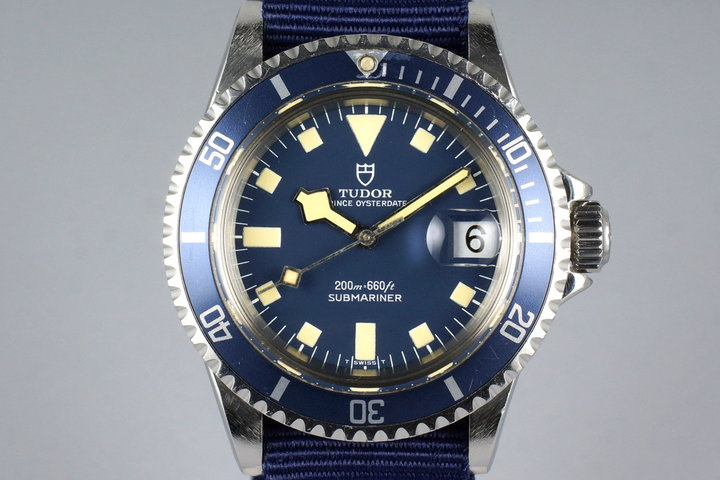 1975 Tudor Blue Submariner 9411/0 Snowflake photo