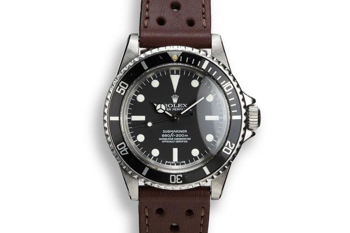 1970 Rolex Submariner 5512 Service Dial photo