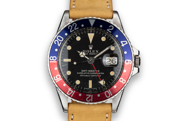 1970 Rolex GMT-Master 1675 with Service Papers photo