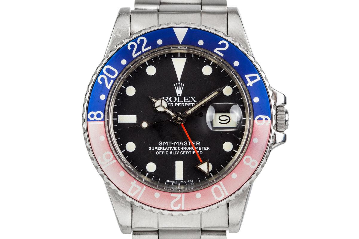 1981 Rolex GMT 16750 photo, #0