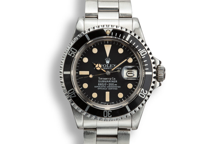1978 Rolex Submariner 1680 with Tiffany and Co. Dial photo