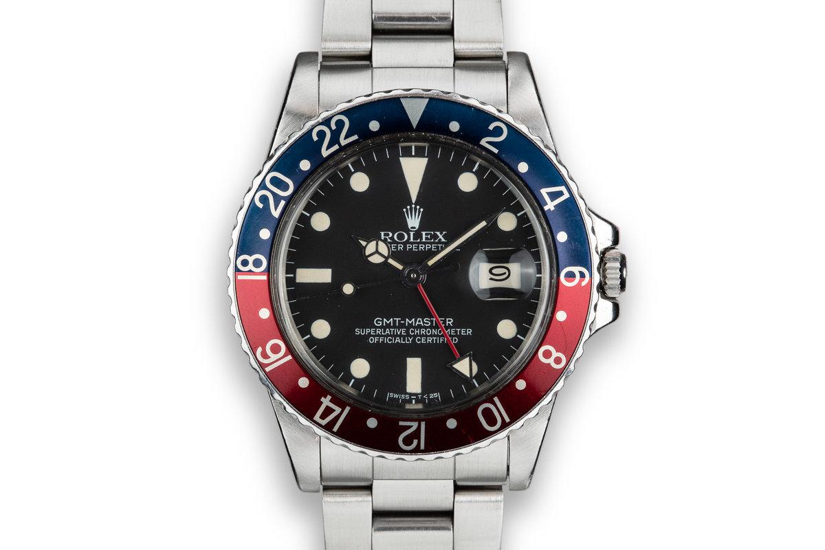 """1979 Rolex GMT-Master 16750 """"Pepsi"""" photo, #0"""