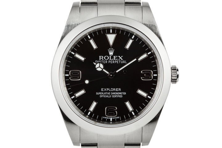 2010 Rolex 39mm Explorer 214270 with Hang Tags photo