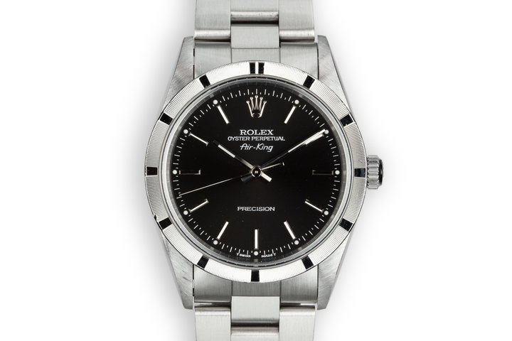 1997 Rolex Air-King 14010 with Box and Papers photo
