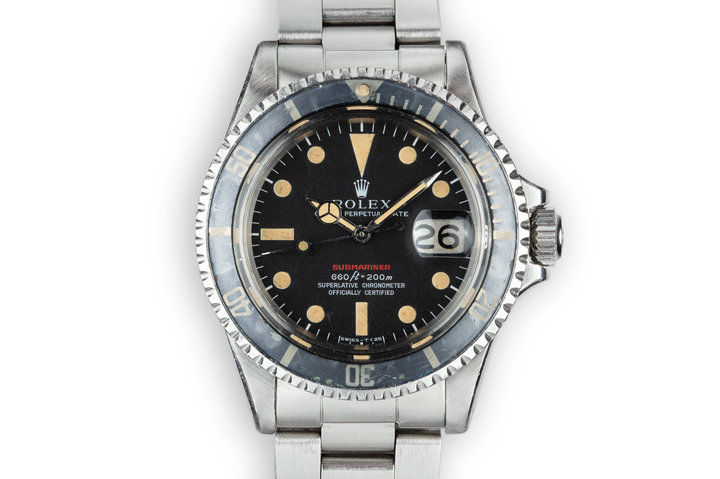 1971 Rolex Red Submariner 1680 with Mark 4 Dial photo