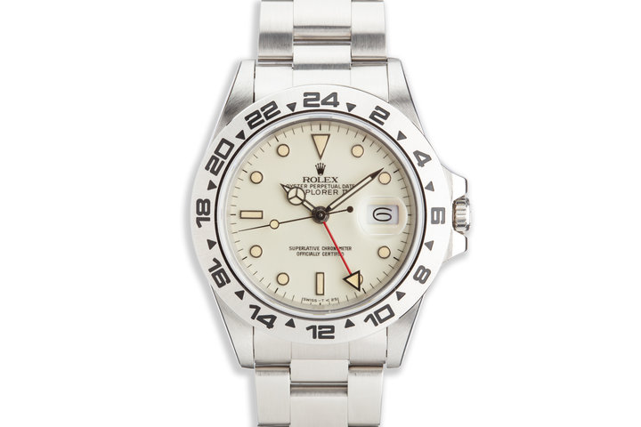 1984 Rolex Explorer II 16550 Cream Rail Dial photo