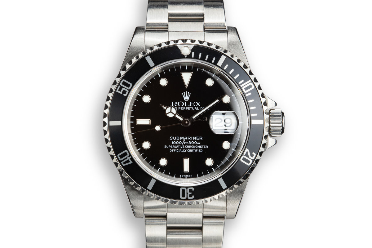 1999 Rolex Submariner 16610 SWISS Only with Papers photo, #0
