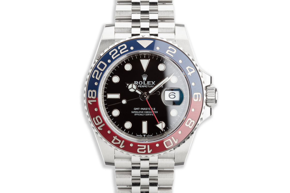 """2019 Rolex GMT-Master II 126710BLRO """"Pepsi"""" with Box and Card photo, #0"""