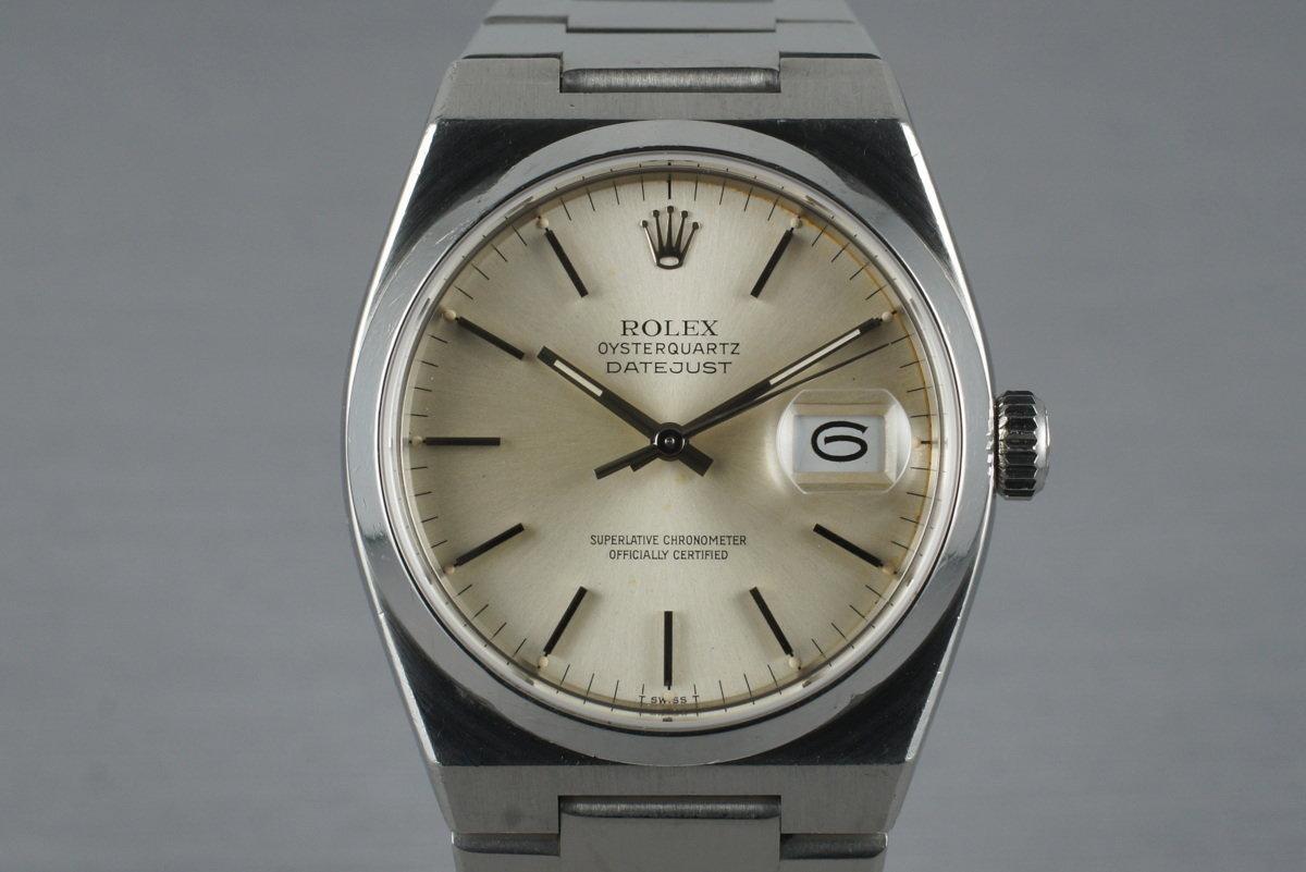 1982 Rolex OysterQuartz Datejust 17000 photo, #0