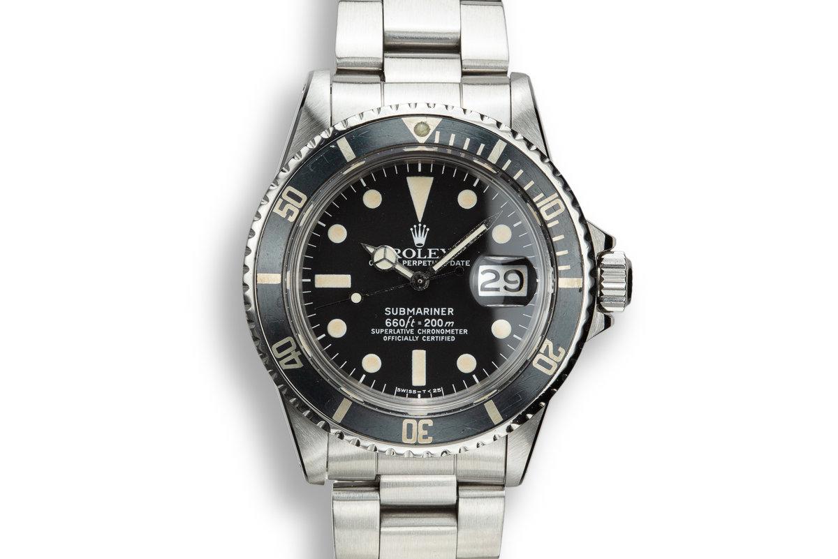 1975 Rolex Submariner 1680 photo, #0