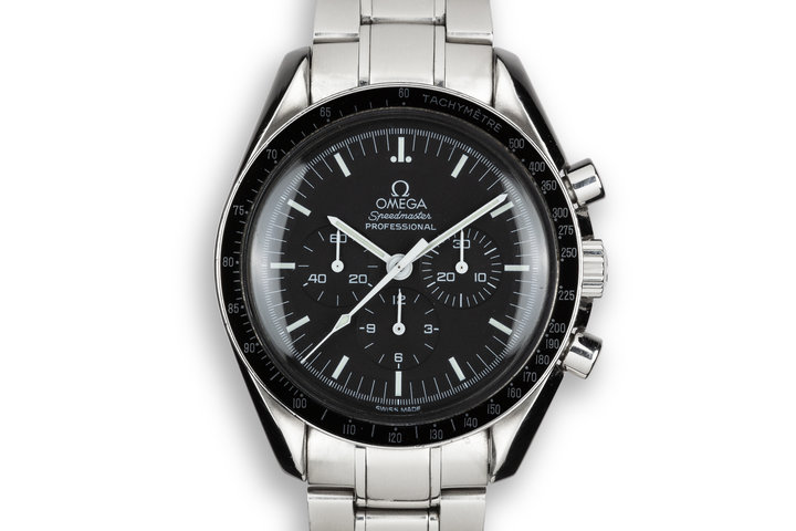 1990 Omega Speedmaster Professional 35725000 With Box and Papers photo