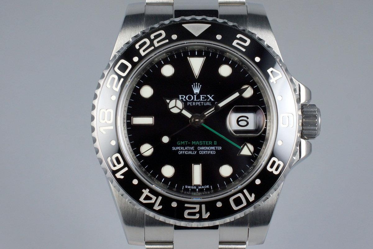 2009 Rolex GMT II 116710LN photo, #0