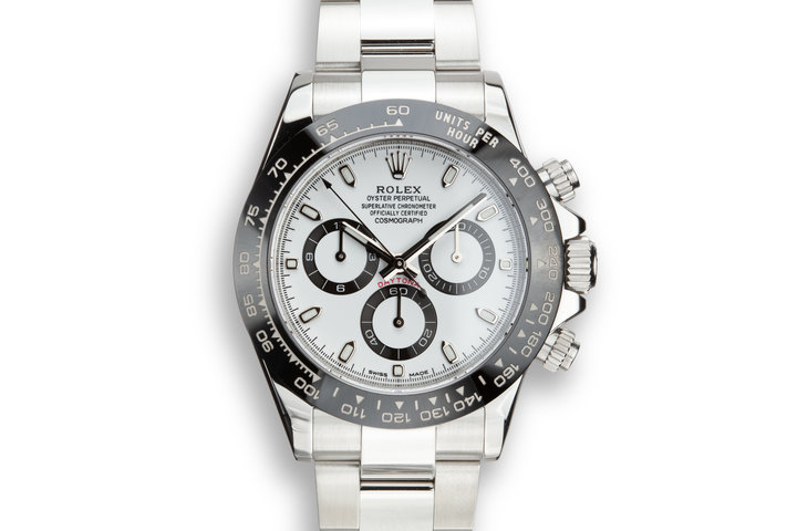 2016 Rolex Daytona 116500LN White Dial with Box and Papers photo