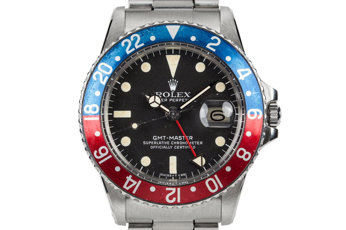 1977 ROlex GMT-Master 1675 with Box and Papers photo, #0