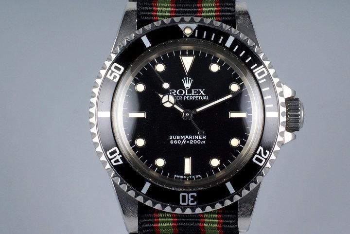 1989 Rolex Submariner 5513 photo