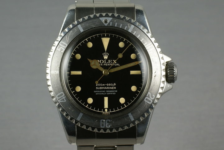 Rolex Submariner  5512 PCG with beautiful 4 line 2 color chapter ring photo