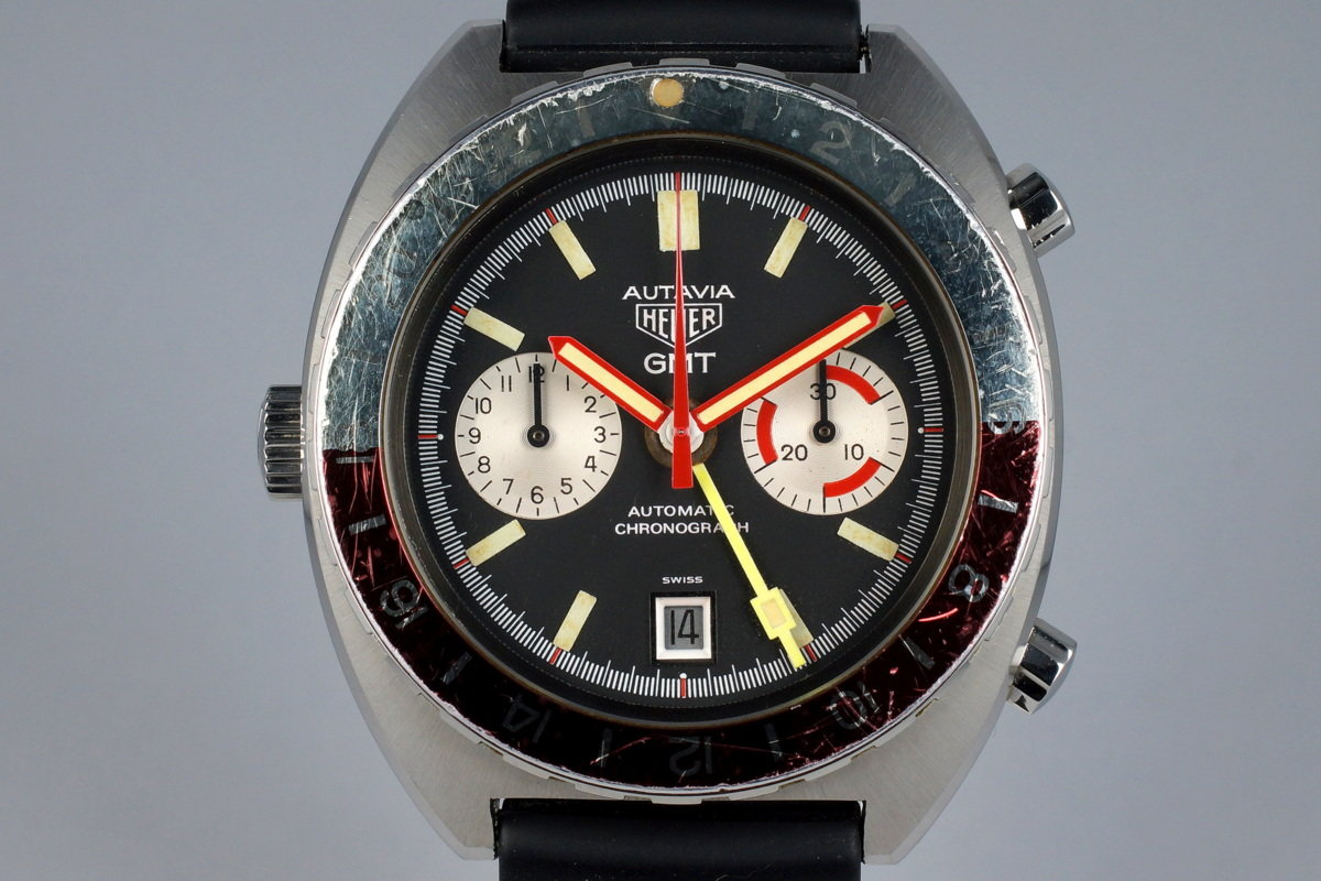 1970's Heuer Autavia 11630 GMT photo, #0