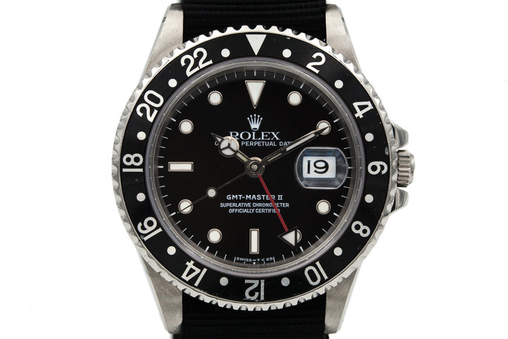 1991 Rolex GMT Master II 16710 photo