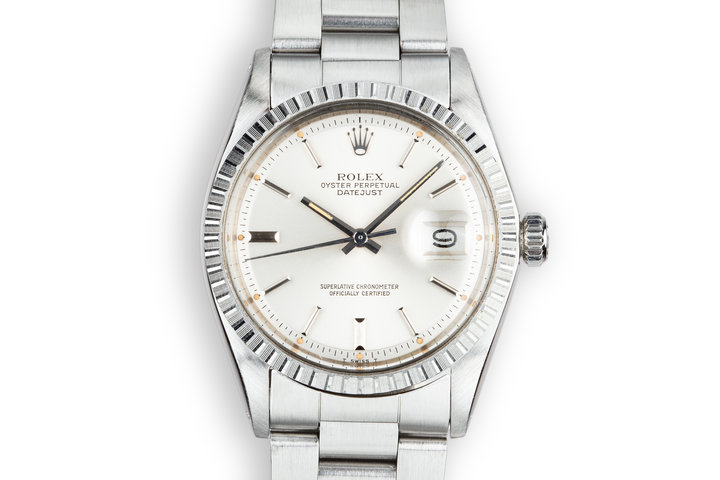 1975 Rolex DateJust 1603 Silver Dial photo