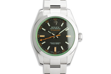 2009 Rolex Milgauss 116400GV photo
