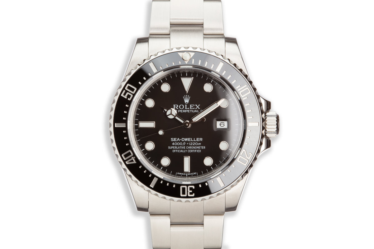 2015 Rolex Sea-Dweller 116600 with Box and Card photo, #0
