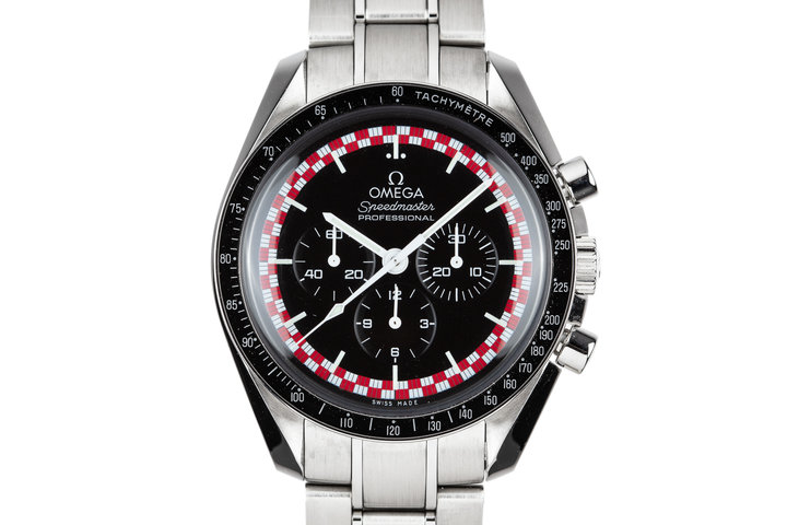 "2014 Omega Speedmaster Professional 311.30.42.30.01.004 ""Tin Tin"" Dial with Card photo"