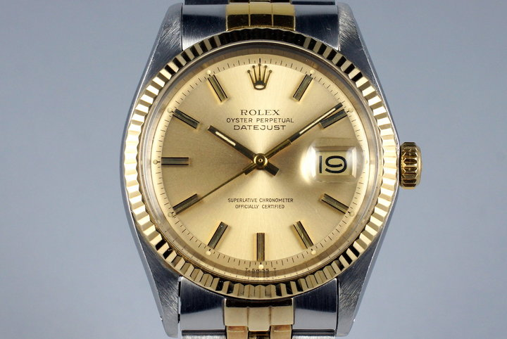 1971 Rolex Two Tone DateJust 1601 photo
