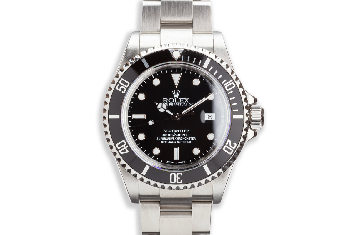2000 Rolex Sea-Dweller 16600 Box And Papers & Tool photo, #0