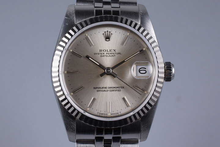 1988 Rolex DateJust Mid Size 68274 photo