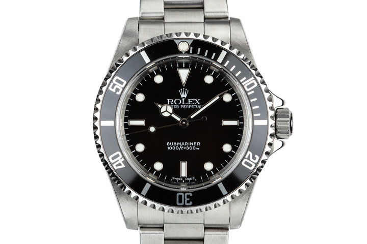 2002 Rolex Submariner 14060M photo