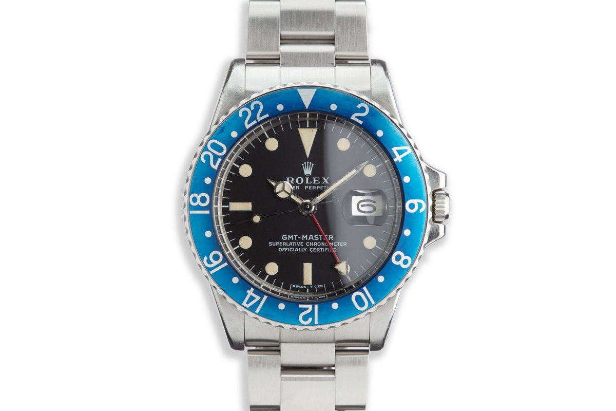 "1972 Rolex GMT-Master 1675 ""Blueberry"" photo, #0"
