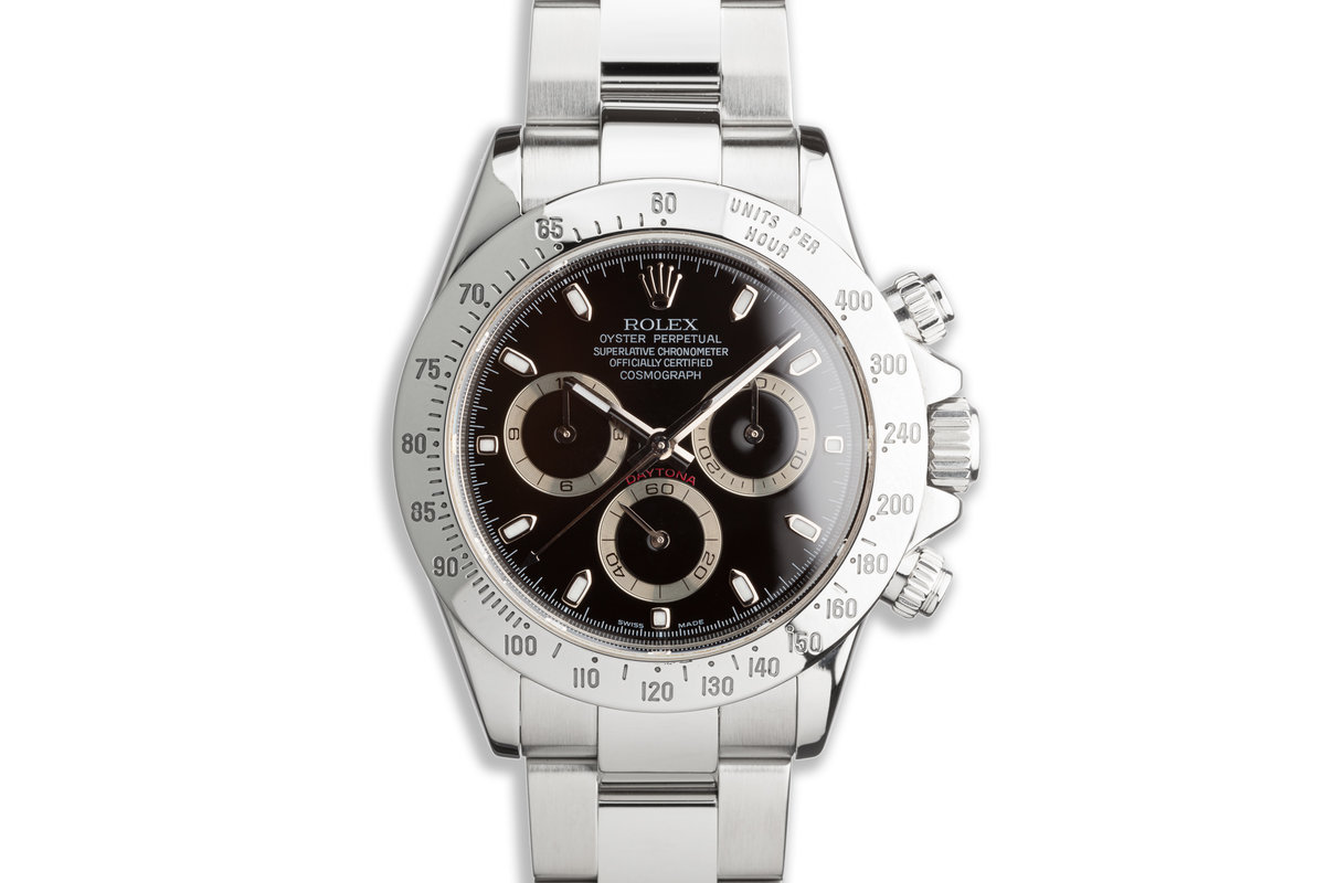 2009 Rolex Daytona 116520 Black Dial with Box and Card photo, #0