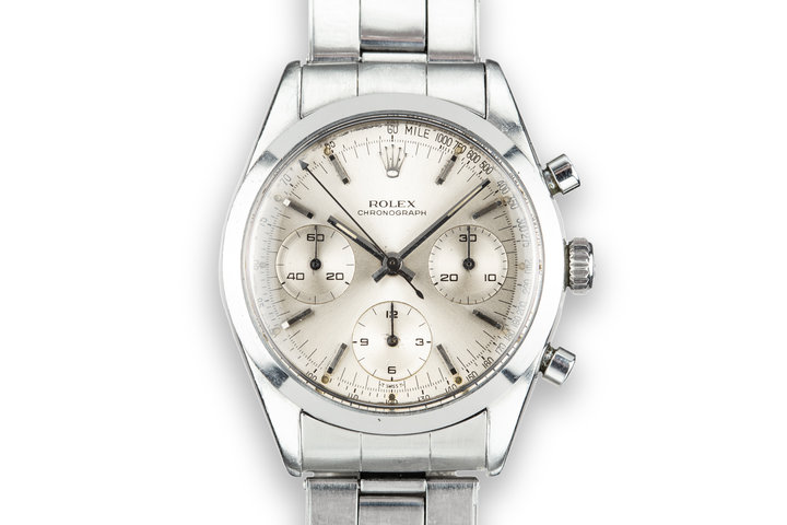 1964 Rolex Pre-Daytona 6238 Silver Dial photo