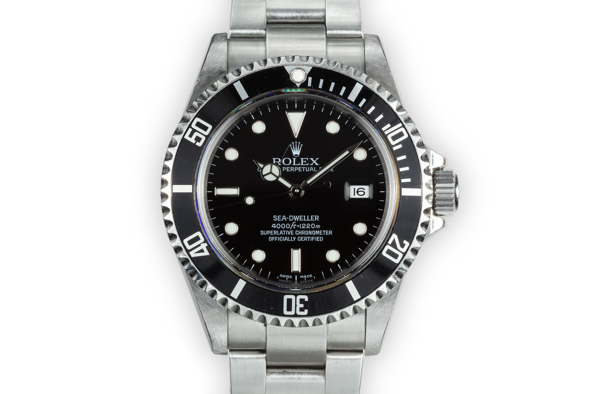 2006 Rolex Sea-Dweller 16600 with Box and Papers photo, #0