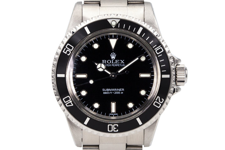 1985 Rolex Submariner 5513 with Black Service Dial photo