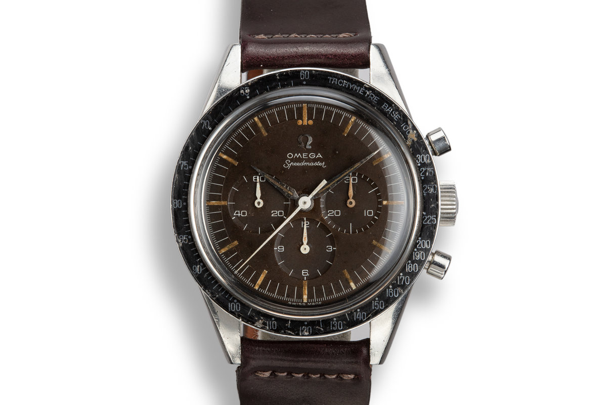 1960 Omega Straight Lug Speedmaster 2998-2 with Tropical Dial photo, #0